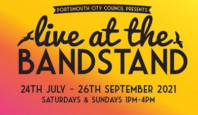 Logo for Live at the Bandstand 2021
