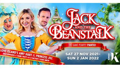 Poster image for Jack and the Beanstalk at the Kings Theatre