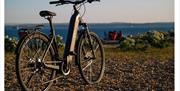 Southsea Beach and an eBike from Bikes To You
