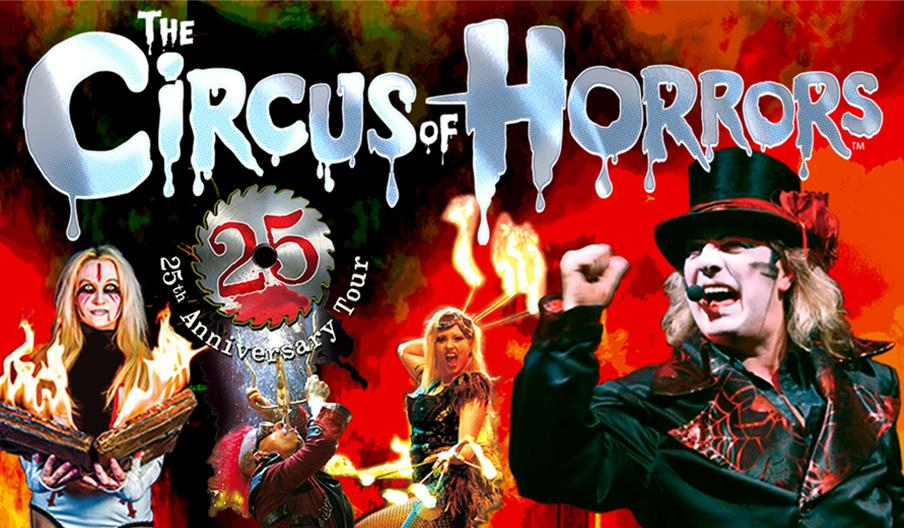 Press shot for The Circus of Horrors
