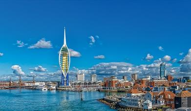 Spinnaker Tower Credit to Stefan & Sara Venter