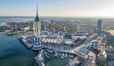Spinnaker Tower external view
