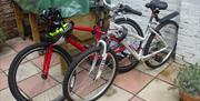 Bikes for hire as part of the Portsmouth Guided Cycle