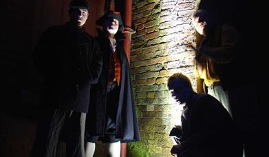 Costumed Guides for Dark Encounters, Portsmouth