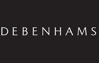 Debenhams logo - All rights Debenhams