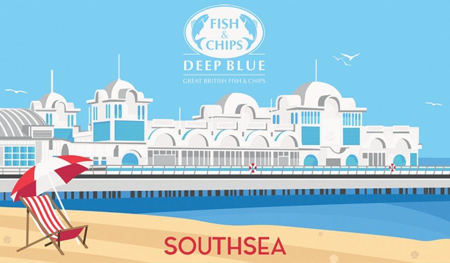 Deep Blue Southsea illustration