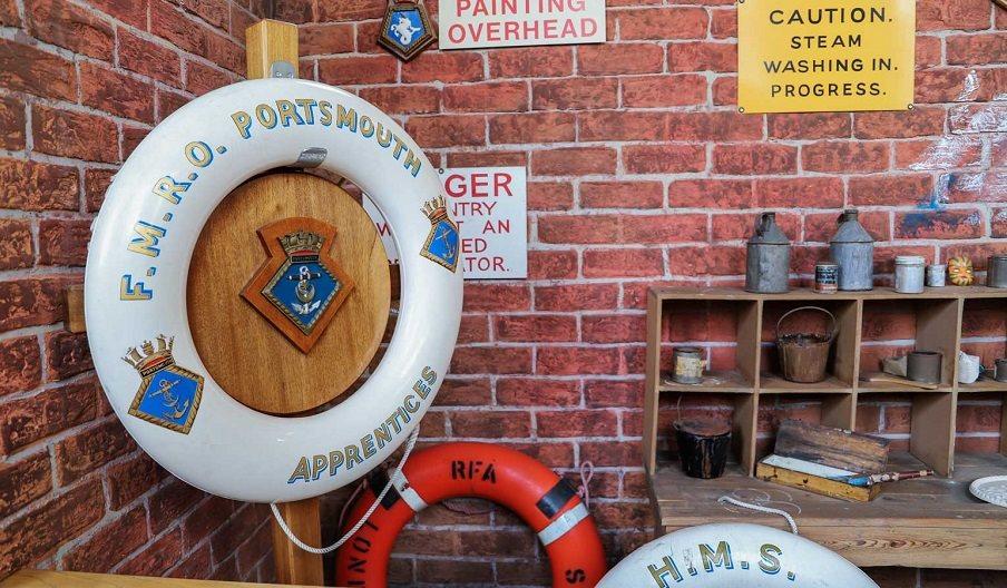 Dockyard Apprentice activity at Portsmouth Historic Dockyard