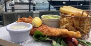 Fish and Chips at Spinnaker Kitchen & Bar
