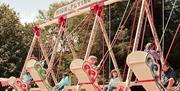 Traditional Victorian Fun Fair rides