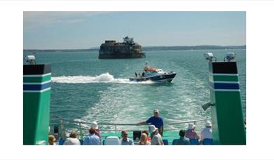 Image for Scenic Solent Cruises - Four Forts Cream Tea