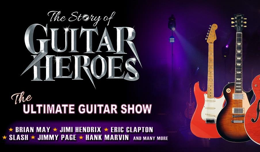 Press poster for The Story of Guitar Heroes