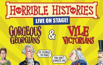 Illustration for Horrible Histories - Gorgeous Georgians and Vile Victorians!