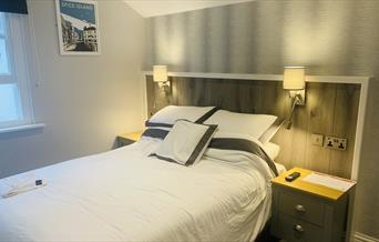 Double room at Upper Mount House