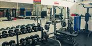 Free weights at Gym 01