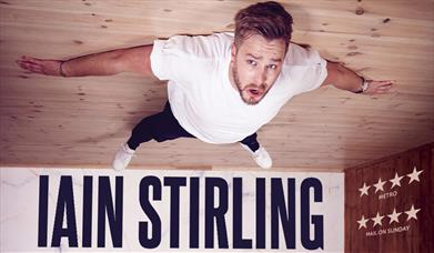 Press shot for Iain Stirling: Failing Upwards