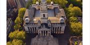 Aerial shot of Portsmouth Guildhall - by Solent Sky Services