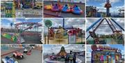 Selection of rides available at Kidz Island