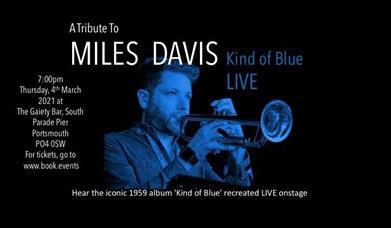 Poster artwork for Kind of Blue Live