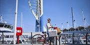 Gunwharf Quays cycle
