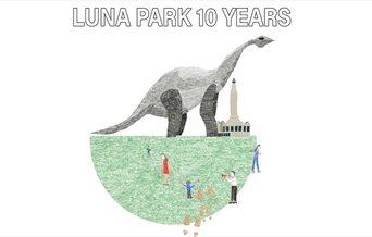 Luna Park 10 Years illustration