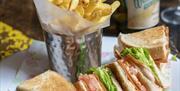Cosy Club Portsmouth lunch