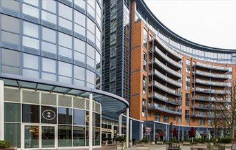 Gunwharf Quays apartments and eateries
