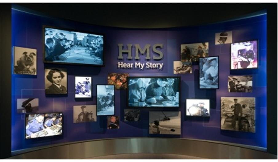Image of HMS Hear My Story Gallery - National Museum of the Royal Navy