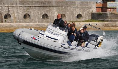 Onboard Powerboat ride