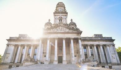 External shot of Portsmouth Guildhall
