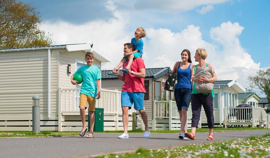 Chance for the whole family to enjoy some quality time at Hayling Island Holiday Park