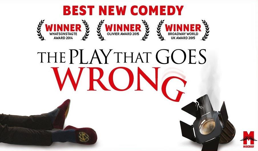 Press shot for The Play That Goes Wrong