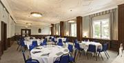 Meeting room setup at Portsmouth Guildhall