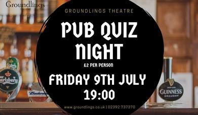 Image for Groundlings Pub Quiz Night