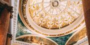 Queens Hotel ceiling