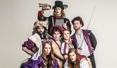 Press shot for Sh!t-Faced Shakespeare: Romeo and Juliet