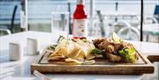 Locally sourced ingredients fill the menu of The Waterfront Cafe