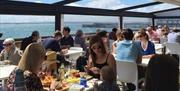 Southsea Beach Café dining