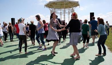 Dancers at Southsea Bandstand