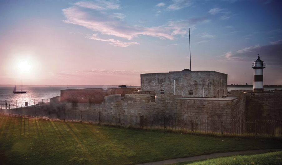 Southsea Castle & The Solent