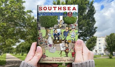 Front cover for The Mystery of Southsea's Laughing Sailor