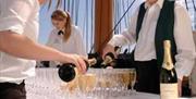 Champagne Reception - HMS Warrior 1860