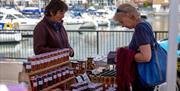 Port Solent Market - overlooking the Marina