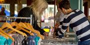 Trinkets to browse and buy at Port Solent Waterside Market