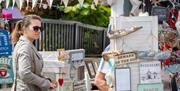 Craft items to buy at Port Solent Market