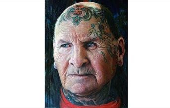Karl Rudziak painting from We Don't Need Culture