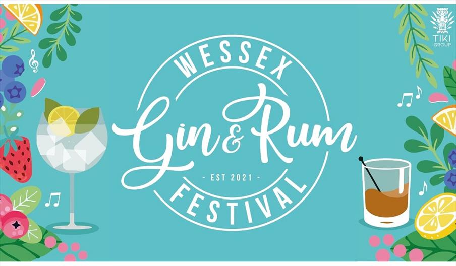 Flyer image for the Wessex Gin and Rum Festival