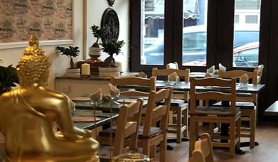 Inside of Fah Thai Restaurant