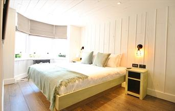 Bedroom at Becketts Southsea