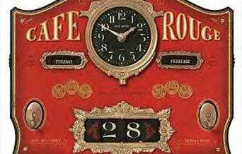 Café Rouge sign.