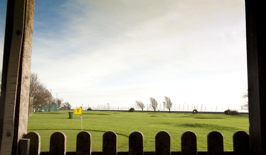 Pitch and putt course at the Tenth Hole